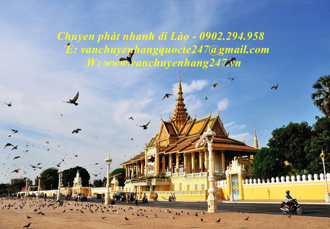 Chuyển phát nhanh qua Lào