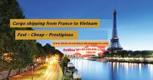 Cargo shipping from France to Vietnam